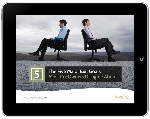 The Five Major Exit Goals Most Co-Owners Disagree About (eBook)