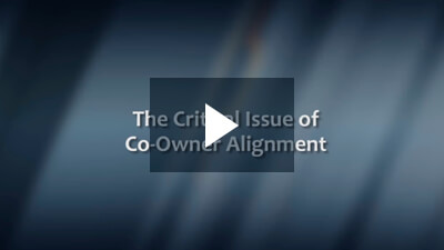 The Critical Issue of Co-Owner Alignment