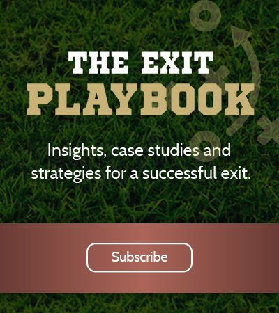 The Exit Playbook | Insights, case studies and strategies for a successful exit. | Subscribe