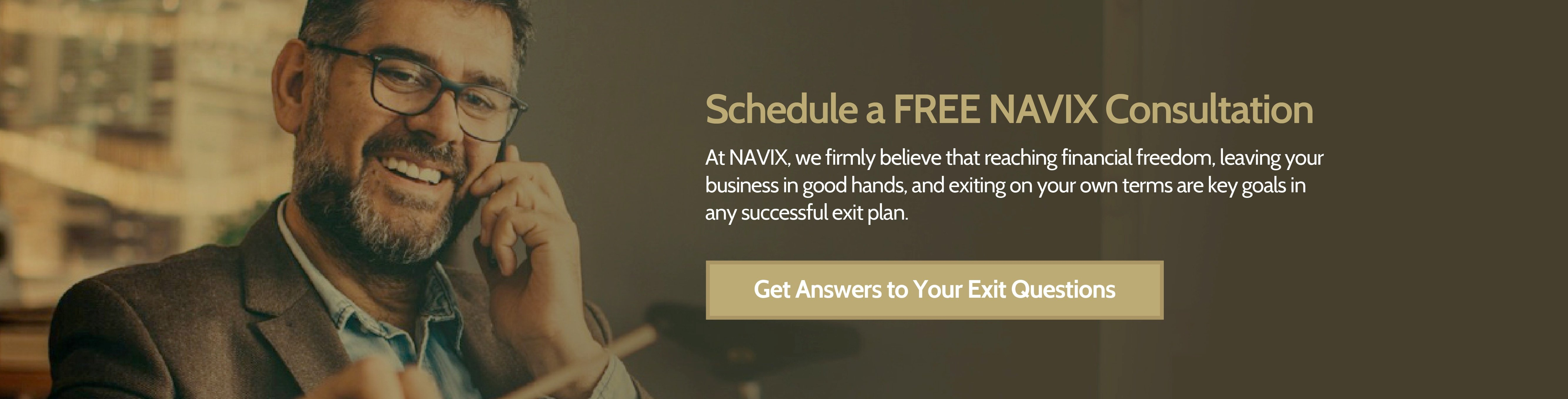 Schedule a FREE NAVIX Consultation today